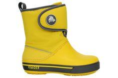 Śniegowce CROCS GUST BOOT yellow/charcoal http://bit.ly/ZIEYtl