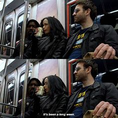 Jessica: It's s been a long week.  #jessicajones #krystenritter #defenders #defend #marvel