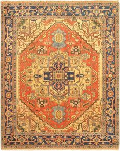 """ON SPECIAL...Hand-knotted Turkish 8'1"""" x 10'1"""" Sarabi Southwest  Wool Rug"""