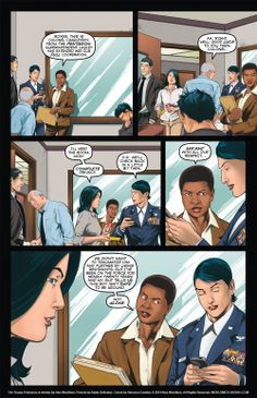 The Young Protectors: Engaging The Enemy Bonus Comic One—Page 7 - Yaoi 911 Webcomics