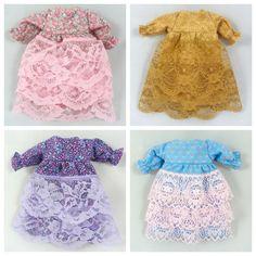 Doll Clothes: Fancy Doll Dresses by JoellesDolls on Etsy