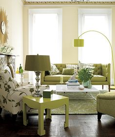 I like the feel of this room #livingroom @green