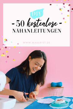 50 free sewing instructions in Makerist magazine // # sewingmitmaker . - 50 free sewing instructions in Makerist magazine // / AWithmaker / A¤hanleitung # - Baby Patterns, Crochet Patterns, Which Is Correct, Small Blankets, Baby Sewing Projects, Textiles, Toxic Relationships, Learn To Crochet, Free Sewing