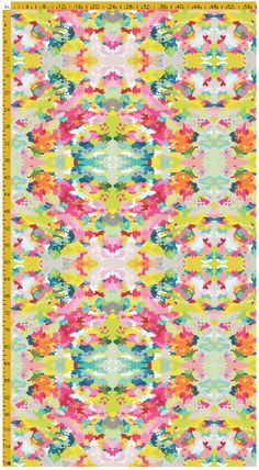 fabric by the yard: preppy girl on heavy cotton twill
