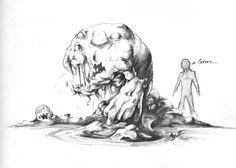 Sub-Boss Slime - By Arthur Bowling