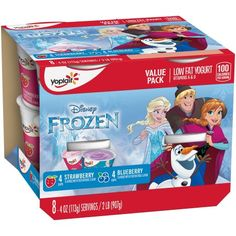 Yoplait® Kid Yogurt Variety Pack of Blueberry and Strawberry Value Pack 8 - 4.0 oz Cups