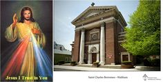 """[April 07 at 3PM] Saint Charles Borromeo Parish - Waltham will conduct a prayer service in the Blessed Sacrament Chapel at 3:00 p.m. The service will consist of the Litany of Reparation, Chaplet of Divine Mercy, rosary, and """"Reflections on the Life of Saint Faustina"""" and """"Contributions of Pope Emeritus Benedict XVI to promote Divine Mercy."""" Divine Mercy materials will be available. All are welcome. For further information call the parish office at 781-893-0330."""
