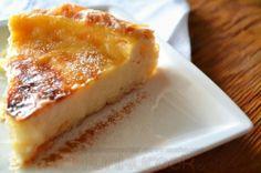 Γλυκιά Γαλατόπιτα, Greek Traditional Sweet Cream Pie! Greek Sweets, Greek Desserts, Greek Recipes, Sweet Cream Pie, Cheesecake Pie, Greek Dishes, Group Meals, Delicious Desserts, Sweet Tooth