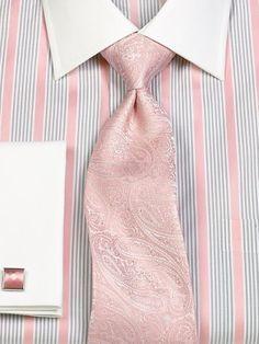 Paisley Woven Italian Silk Tie from Paul Fredrick