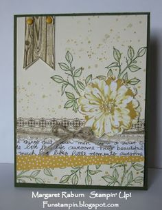 Happy Thursday, everyone! And Thursday brings us fun in the form of the weekly Create with Connie and Mary Challenge ; Love Stamps, Flower Patch, Stamping Up Cards, Happy Thursday, Flower Cards, So Little Time, Stampin Up, Birthday Cards, Choose Happiness