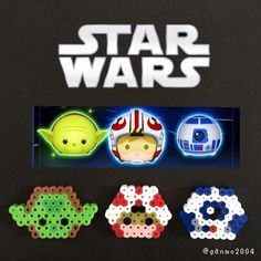 Star Wars perler beads by ganmo2004