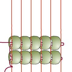 Basic Beading on a Loom: Step 5