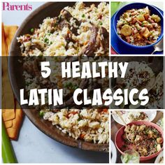 These five healthy Latin recipes are total classics. Not to mention, they're super easy to make.