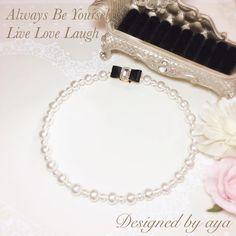 5,800yen いいね!3件、コメント1件 ― Designed by ayaさん(@designed_by_aya)のInstagramアカウント: 「#ウエディングアクセサリー #パーティーアクセサリー #コットンパールネックレス #juwelry #designedbyaya #ハンドメイドアクセサリー」