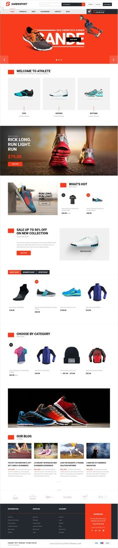 Gandesport is an intuitive, flexible and powerful #Magento 2.x Theme for #shoes #shop stunning eCommerce websites with 6 unique homepage layouts download now➩ https://themeforest.net/item/grandesport-high-conversion-multipurpose-magento-2-theme/19350489?ref=Datasata