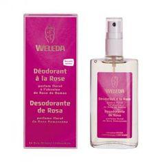Déodorant à la Rose 100ml Weleda | Acheter sur Greenweez.com