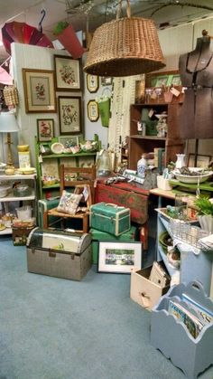 My booth at Vintage Village in Snellville, GA