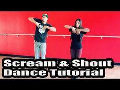 SCREAM AND SHOUT - Will.i.Am & Britney Spears Dance TUTORIAL | Choreography by Matt Steffanina
