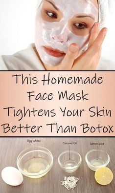 Tighten Your Skin Faster Than Botox With This Powerful Homemade Face Mask - Hautpflege-ideens Face Skin Care, Diy Skin Care, Skin Care Tips, Dry Face, Skin Tips, Homemade Face Masks, Homemade Skin Care, Best Diy Face Mask, Homemade Face Moisturizer