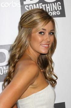 LC has got the hair and make-up thing down!  LOVE