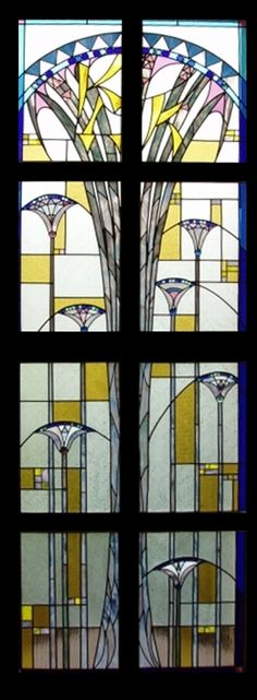 Art_deco_stained_glass_window_by_ishtar1917.jpg (318×864)
