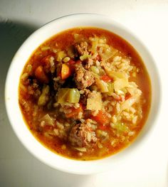cabbage soup by jill elise http://www.heythattastesgood.com/2010/02/cabbage-roll-soup.html