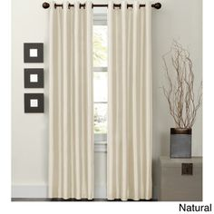 Jardin Thermal Lined 84 inch Curtain Panel | Overstock.com Shopping - Great Deals on Maytex Curtains