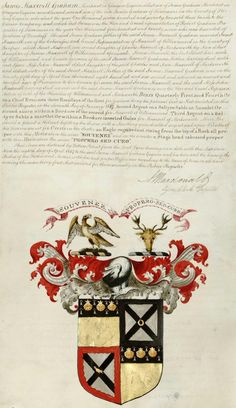 Scottish Arms and Heraldry records online. Coat of Arms from Scotland's people.