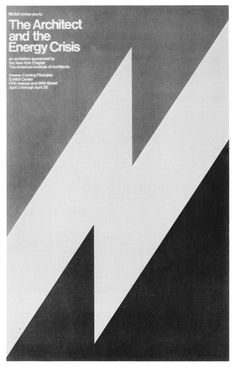 The Architect and the Energy Crisis, poster