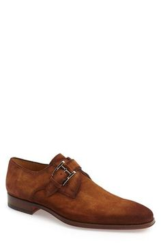 Magnanni 'Enrique' Monk Strap Shoe (Men)