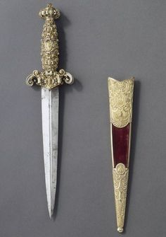 Dagger of the Grand Masters of the Order of Malta Dated: mid-16th century Culture: Southern Germany Source: Copyright © 2016 Musée du Louvre/Photo: J.G. Berizzi