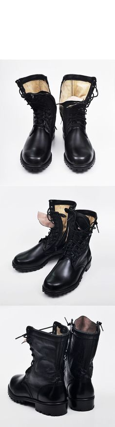 Shoes :: Military Zippered Rescue Boots-Shoes 136 - Mens Fashion Clothing For An Attractive Guy Look