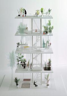 Bildergalerie zu: Wohnhaus von Ryue Nishizawa / Vertikaler Garten in Tokio - Architektur und Architekten - News / Meldungen / Nachrichten - BauNetz.de