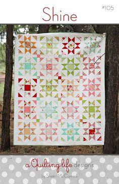 Shine PDF Quilt Pattern via Craftsy