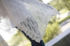 Lilly of the Valley Shawl by Nancy Bush. Lots of Nupps, it will be hard I think.