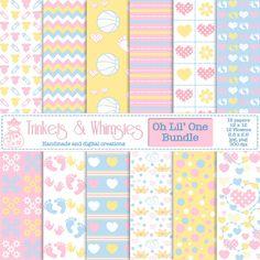 Oh Lil' One Digital Scrapbook Bundle  by TrinketsAndWhimsies