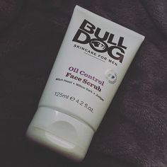 The beard is going to come off shortly (much to the dismay of @beautyqueenuk) but to make sure my pores are opened up and ready for the shave today I'll be trying @bulldogskincare Oil Control Face Scrub - bring it on #shaving #skincare #oilcontrol #bbloggers #bbloggersuk #blogging #beard #beardremoval #productreview #productreviewer #face #facescrub #blogs #beauty #beautyshare