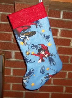 A Quidditch Christmas Stocking