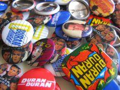 Duran Duran buttons