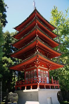 Pagoda at Japanese Tea Garden, San Francisco