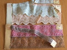 Organzaband - +❤Antik! Plauener Spitze,Organzaspitze ❤+SELTEN - ein Designerstück von mypatchworld bei DaWanda Valance Curtains, Designer, Embroidery, Etsy, Home Decor, Vintage Lace, Embellishments, Fabrics, Needlepoint