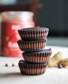 Red Velvet Peanut Butter Cups