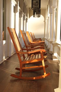 Moana Surfrider, Waikiki the rocking chairs on the lanai are a must.