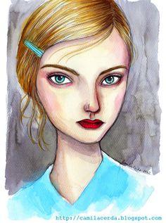 Camila Cerda Illustration: Fall/Winter 2012-2013