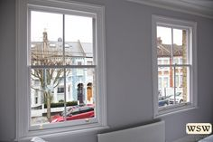 Some lovely sash windows for a very satisfied client in Clapham! Contact us for a free quote! #WSW #london