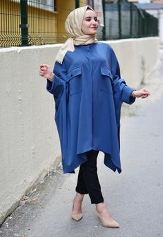 Casual Hijab Outfit, Casual Work Outfits, Modest Outfits, Modest Fashion, Hijab Fashion, Fashion Dresses, Women's Fashion, Frocks For Girls, Girls Dress Up
