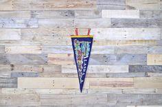 Vintage Alaska Pennant Felt Pennant Felt Banner by ScoutandForge