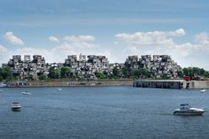 MONTREAL, Canada – Habitat 67 – I stood at this very spot last month... very unusual architecture.