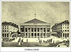 L'Odéon (1818) | Bibliotec – À la française … 2