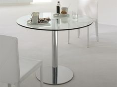 Round Italian Dining Table Henry by Cattelan Italia - $925.00
